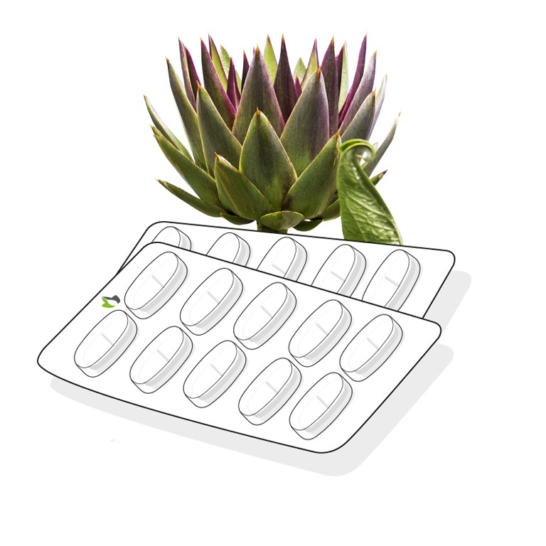 Artichoke leaf tablet