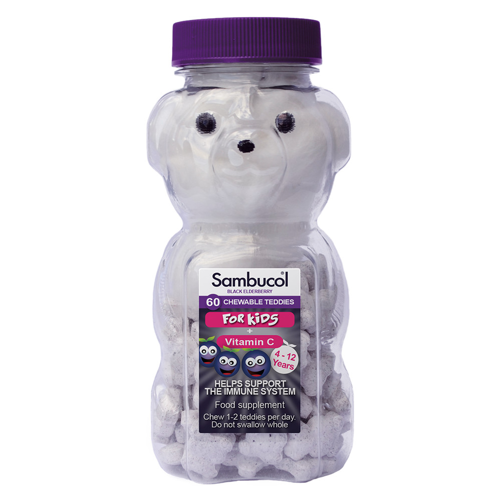 Sambucol Kids Teddies (chewable tablets)